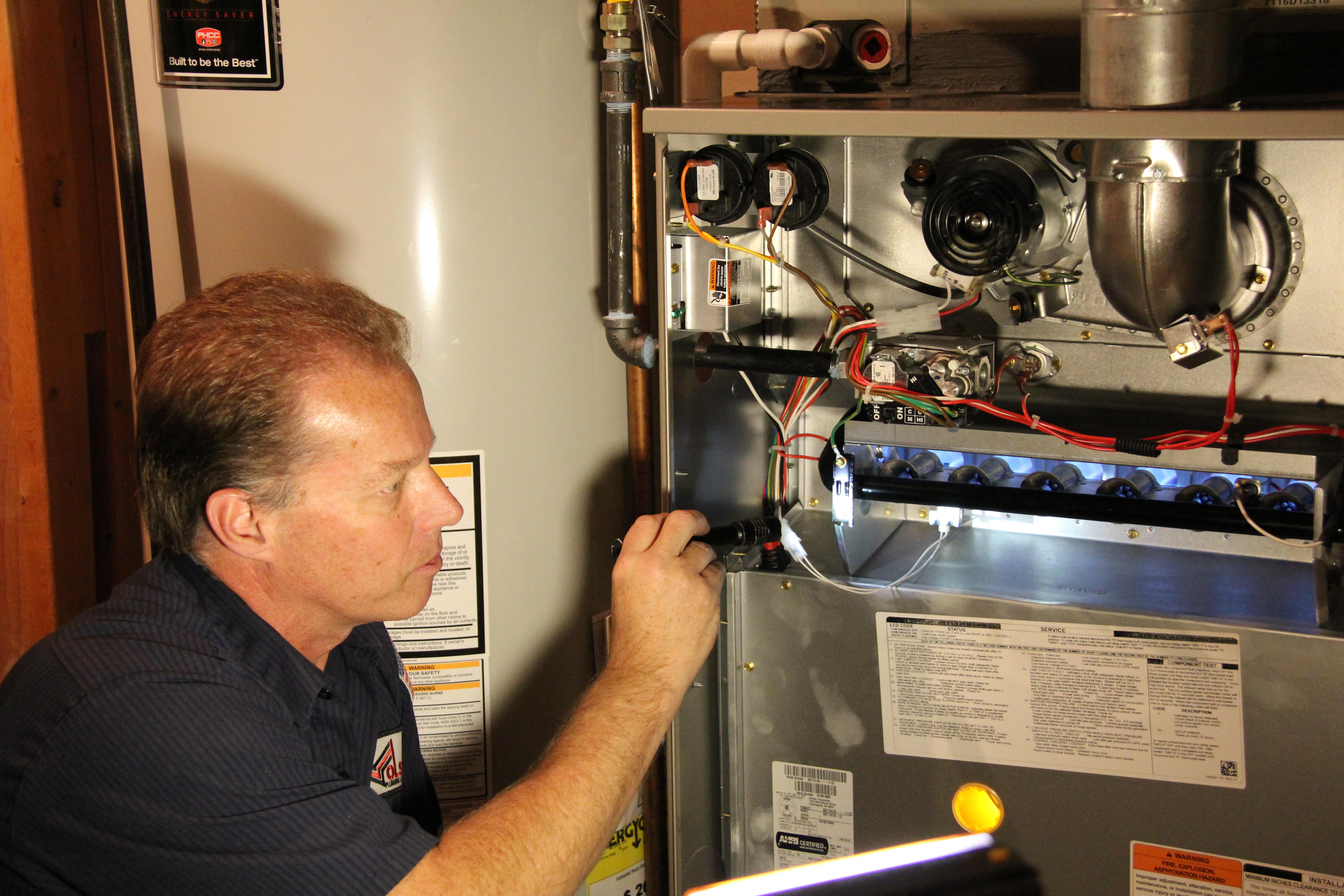 Furnace Inspection – Olson Plumbing & Heating Co