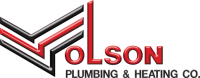 Olson Plumbing & Heating Co. Sticky Logo